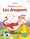 Dragones, Los. Coloreo y pego