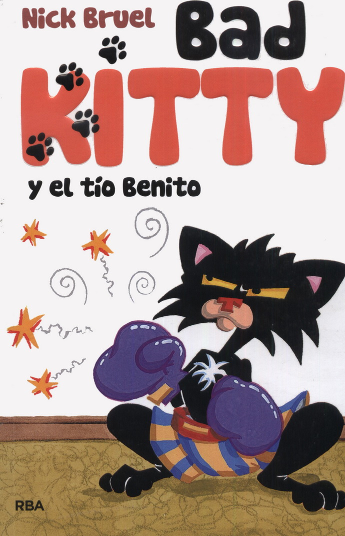 Bad Kitty y el tío Benito